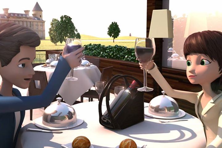 Life in Bordeaux (Animation 3D)